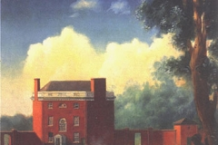 End of the Golden Weather- Rear View of the Octagon, 1855