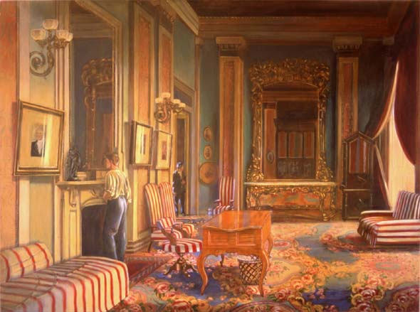 The Speaker's Office in Summer Dress 1861