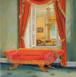 The Red Room at Andalusia